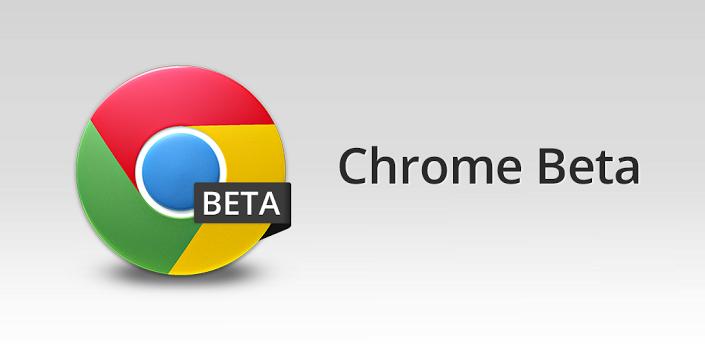 Chrome Beta nuovo Update