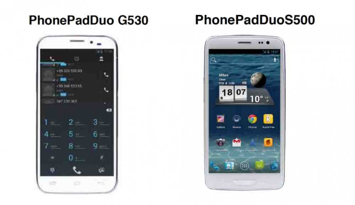 Mediacom svela due phablet Android
