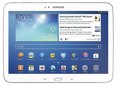 Svelate le caratteristiche tecniche dei nuovi Galaxy Tab 3 da 8 e 10 pollici.