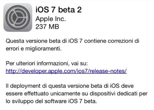 E' arrivato iOS7 anche per iPad: alcuni screenshot