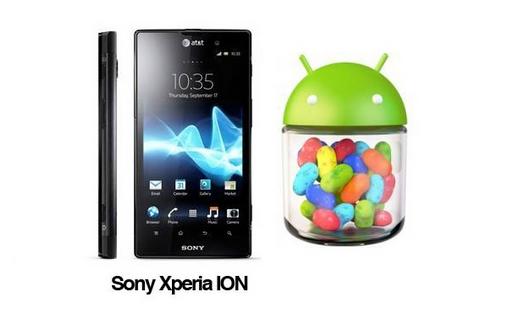 Iniziato il rollout di Android 4.1.2 per Xperia Ion