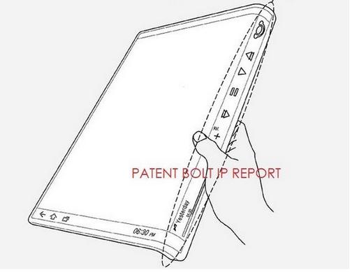 Ancor nuovi brevetti sui tablet con il display flessibile della Samsung