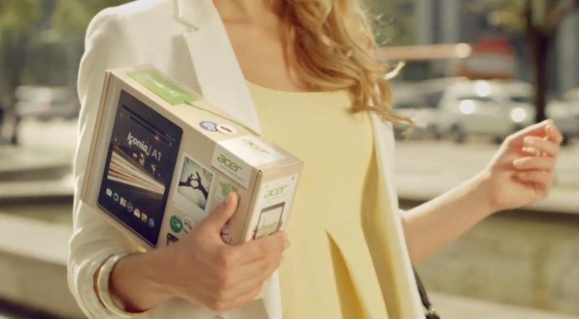 Acer Iconia A1: ecco il primo video ufficiale