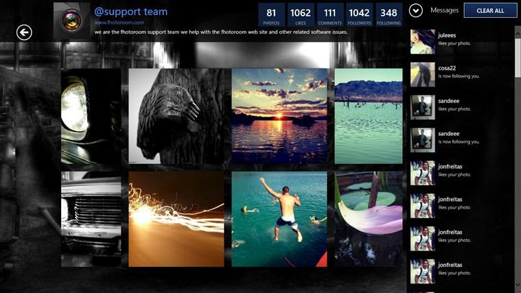 Fhotoroom: nuovi filtri ed integrazione con i social network su Windows 8