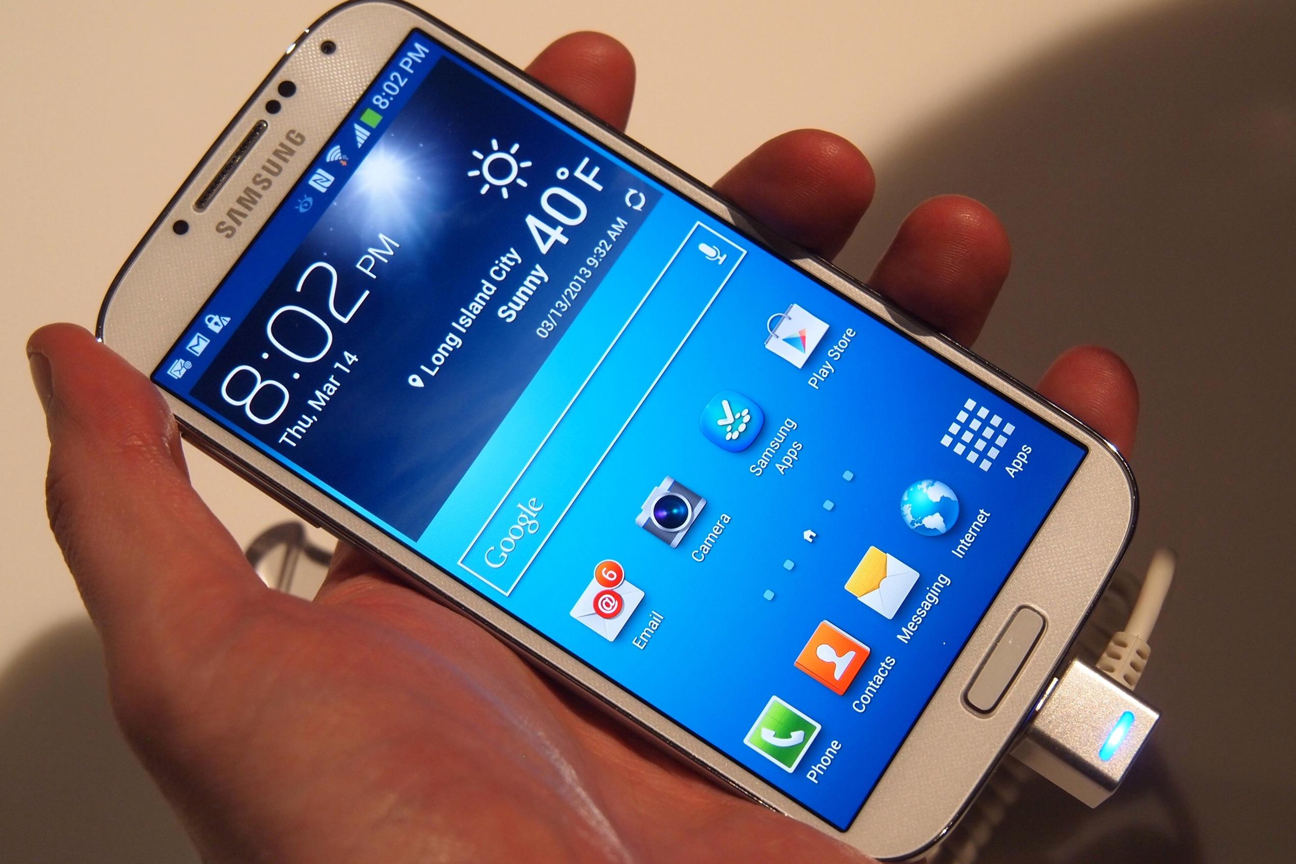 Galaxy S4 da 2.3 GHz