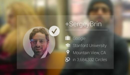 Google Glass: niente app per il riconoscimento facciale