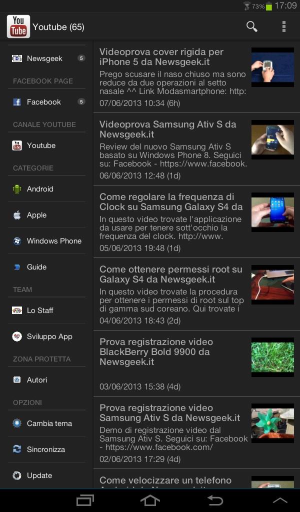 E' arrivata l'app di Newsgeek.it per Android