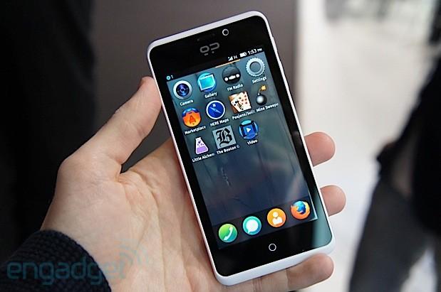 Smartphone e Firefox. Arriva Geeksphone Peak +