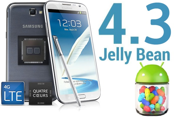 Arriva il firmware semi ufficiale per Android 4.3 su Samsung Galaxy Note 2