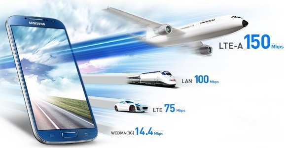Samsung Galaxy S4 LTE-A: vendute in Corea 150.000 unità in due settimane