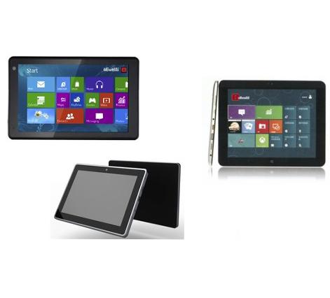 Olivetti Olipad W808, W809 e W810: dei tablet con Windows 8.1 ed Intel Bay Trail