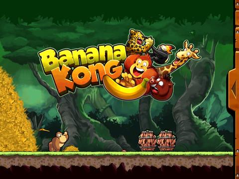 Banana Kong: un nuovissimo endless runner per iOS