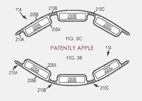 Apple: al via il brevetto per le batterie flessibili