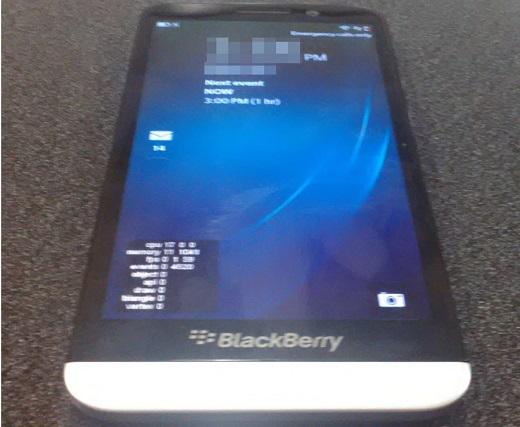 BlackBerry Aristo A10: le primissime foto