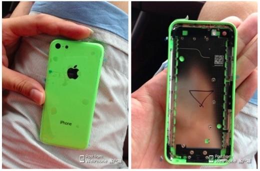 Nuove presunte immagini della scocca di iPhone Low-cost