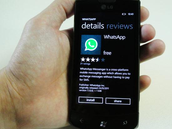 Si aggiorna WhatsApp per Windows Phone risolvendo i vari bug