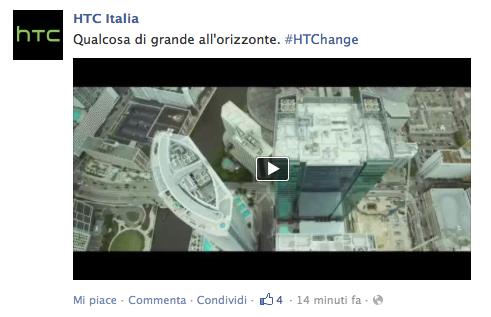 """In arrivo qualcosa di """"grande all'orizzonte"""" dall'HTC (video)"""