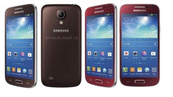 Avvistato il Galaxy S4 Mini nelle varianti Scarlet Dawn, Bronze Autumn e Blue Iceberg