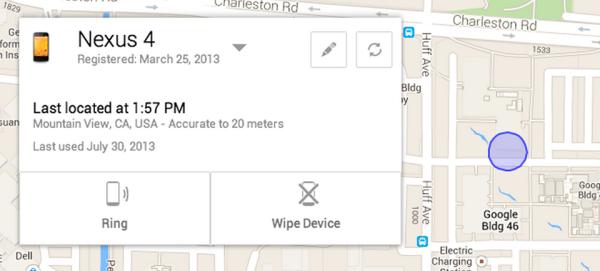 Android Device Manager,nuovo sistema antifurto e smarrimento per i nostri device