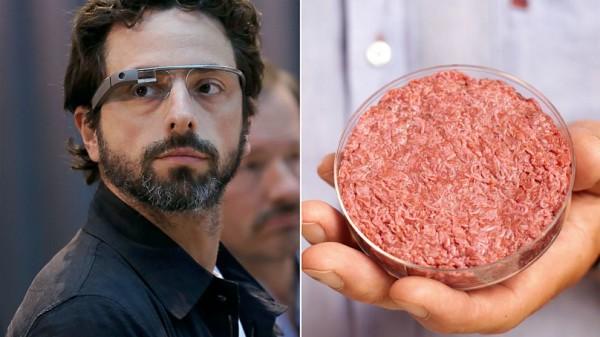 Sergey Brin ed il primo hamburger in laboratorio