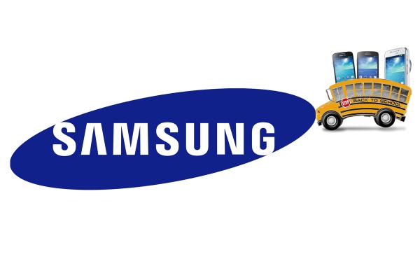 Samsung lancia la promozione Back to School