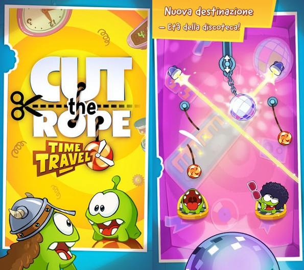 Cut the Rope Time Travel si aggiorna con una nuova era (video)