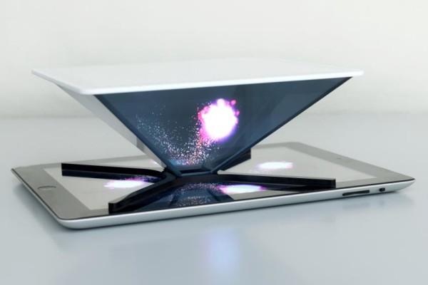 Ologrammi con smartphone e tablet.Holho è un progetto italiano innovativo per la ripresa videografica da device