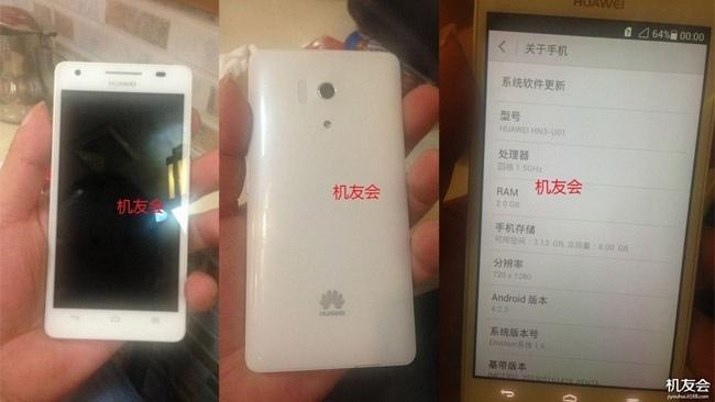 Nuove immagini per Huawei Honor 3