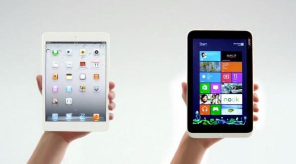 Acer Iconia W3 vs iPad Mini: ecco la sfida tra tablet da 8 pollici (video)
