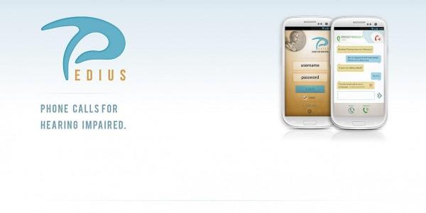 Pedius, l'app che fa telefonare ai sordi