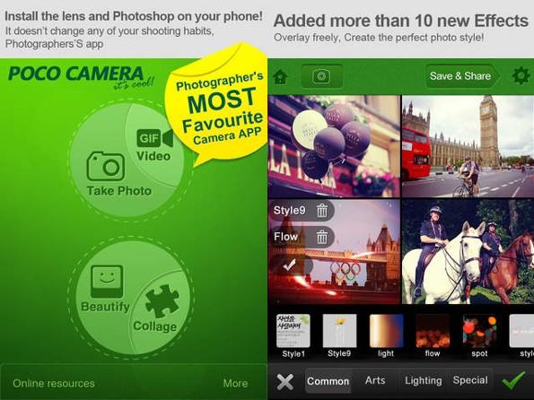 POCO Camera: un'app innovativa per il foto ritocco per iOS