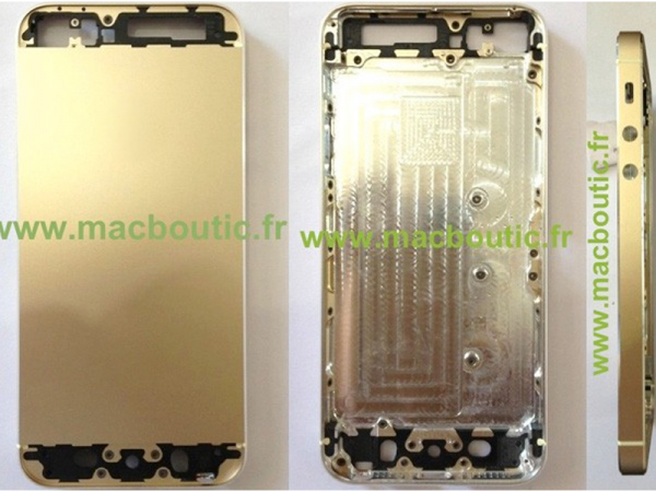 iPhone 5s Versione Gold, nuove foto!