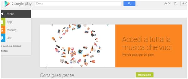 Guida alla versione gratuita di Google Music Unlimited
