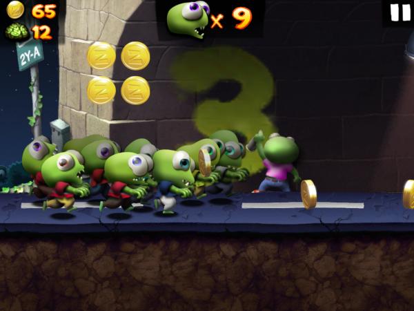 Arriva nel Play Store Zombie Tsunami