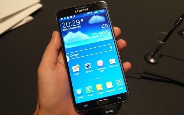 Il Galaxy Note 3 è gestibile anche con una sola mano (video)