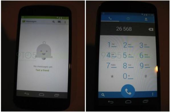 Ecco le prime immagini del nuovo Android 4.4