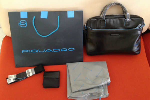 Recensione cartella porta computer PiQuadro