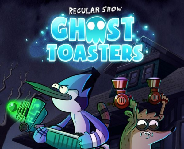 Ghost Toasters Regular Show: colore e frenesia per Android