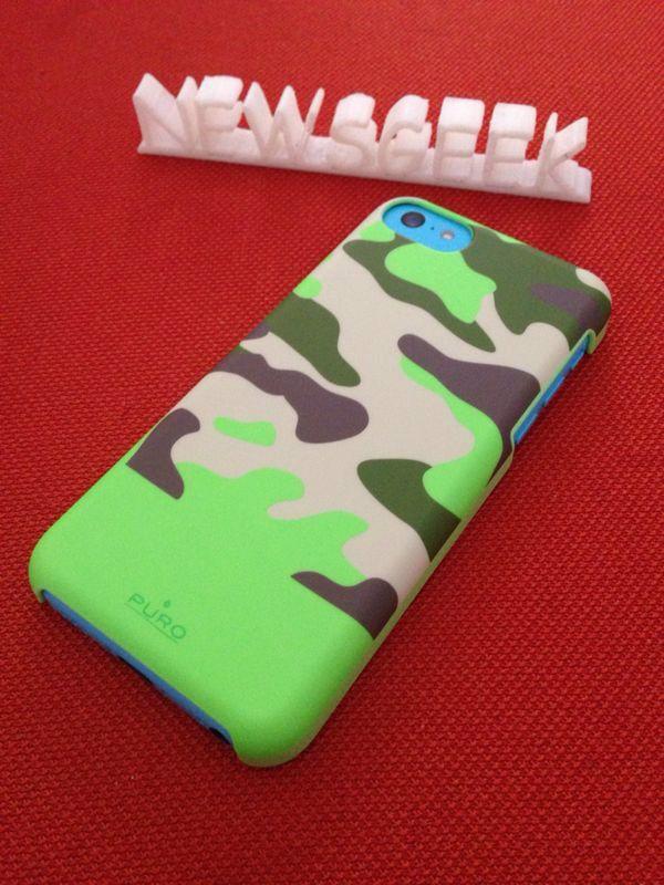 Recensione Cover iPhone 5C Camou Soft da NewsGeek.it