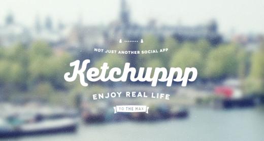 Ketchuppp: è arrivato un nuovo social fondato sulla localizzazione