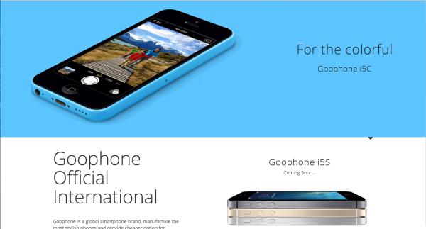 Arriva finalmente l'e-commerce dedicato agli smartphone GooPhone