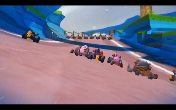 Arriva Angry Birds GO, i simpatici volatili di Angry Birds arrivano sui loro Go-Kart