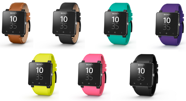 Sony: nuovi cinturini per Smartwatch 2