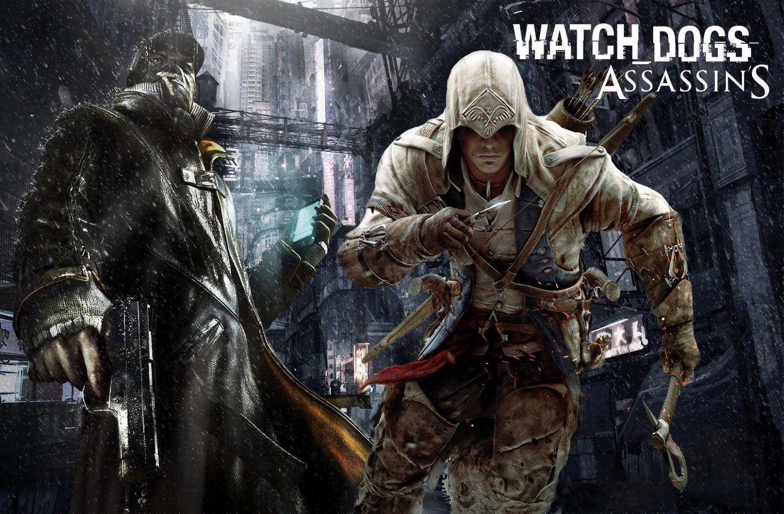 Assassins creeds watch dogs nintendo wii u