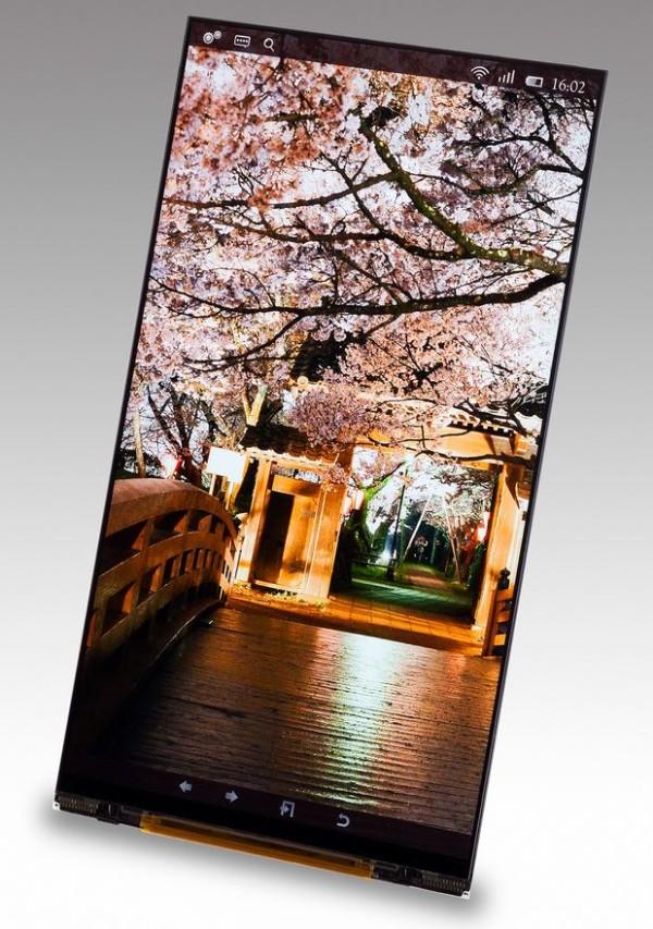 Japan Display rilascia un prodotto da ben 5.4 pollici 2560×1440 pixel, forse, per il prossimo Xperia!