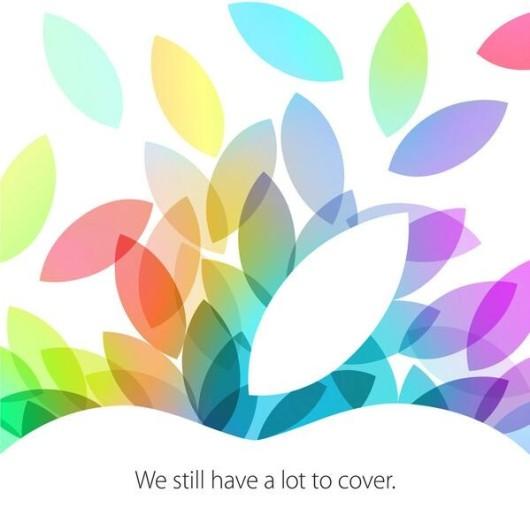 Apple, iniziano i preparativi per il 22!