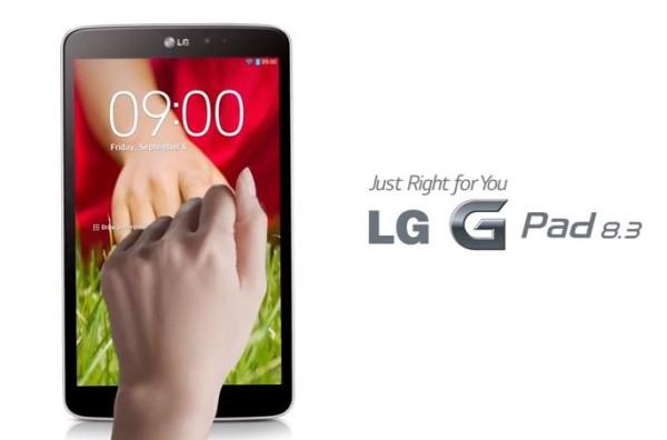 Passa la certificazione Bluetooth anche LG-V510: forse il G Pad 8.3 LTE