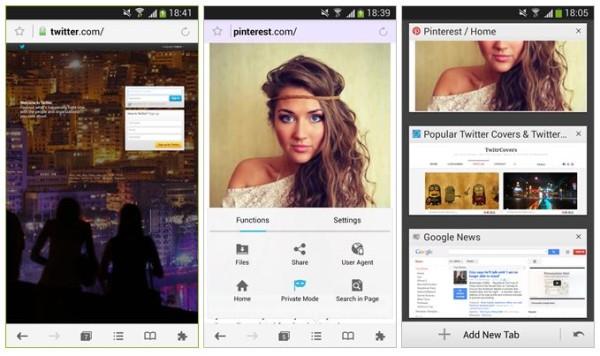 Mercury Browser arriva anche nel Play Store