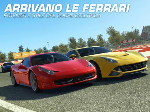 Si aggiorna Real Racing 3 per Android con l'estensione Ferrari!