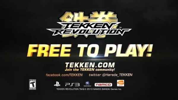 Playstation 3: Tekken Revolution free-to-play disponibile dal 31 ottobre